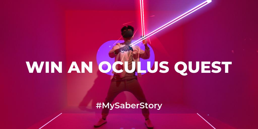 """Win An Oculus Quest! – """"How Beat Saber Changed My Life"""