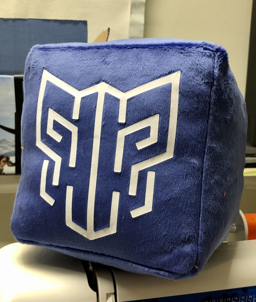 BeastSaber plush cube